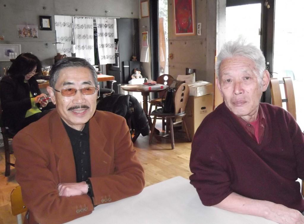 小山修三教授と明石さん